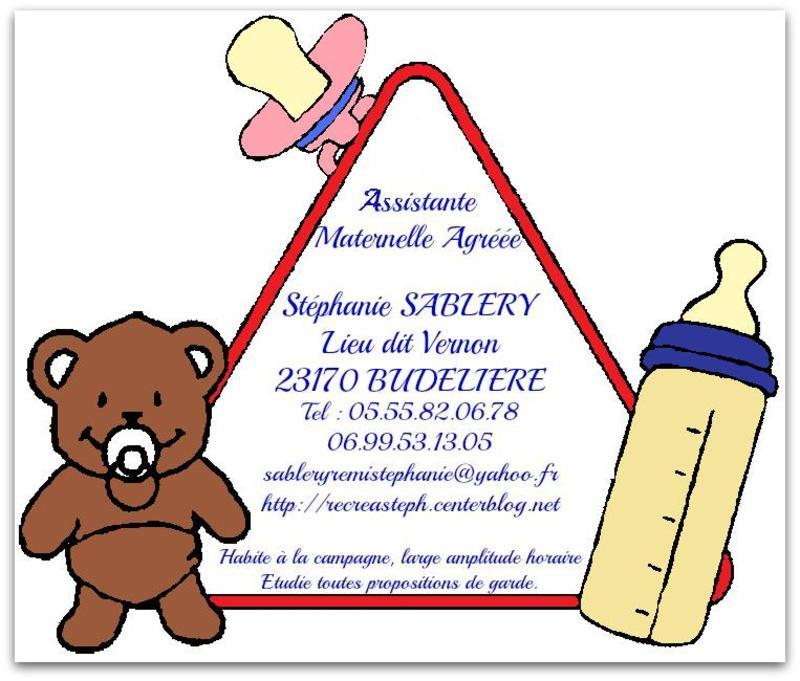 81 Carte De Visite Assistante Maternelle Agree